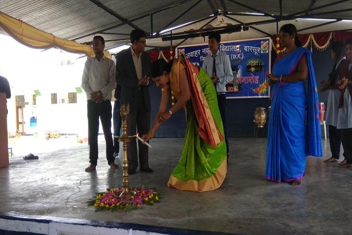 Jawahar Navodaya Vidyalaya-Lighting The Lamp