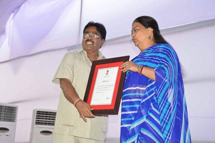 Shri Mahaveer Digamber Jain Senior Secondary School-Felicitation
