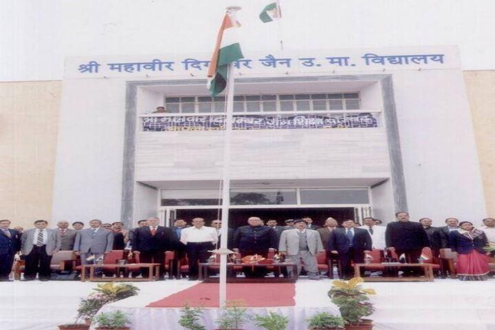 Shri Mahaveer Digamber Jain Senior Secondary School-Flag Hosting