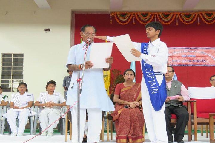 Shri Mahaveer Digamber Jain Senior Secondary School-Oath Taking