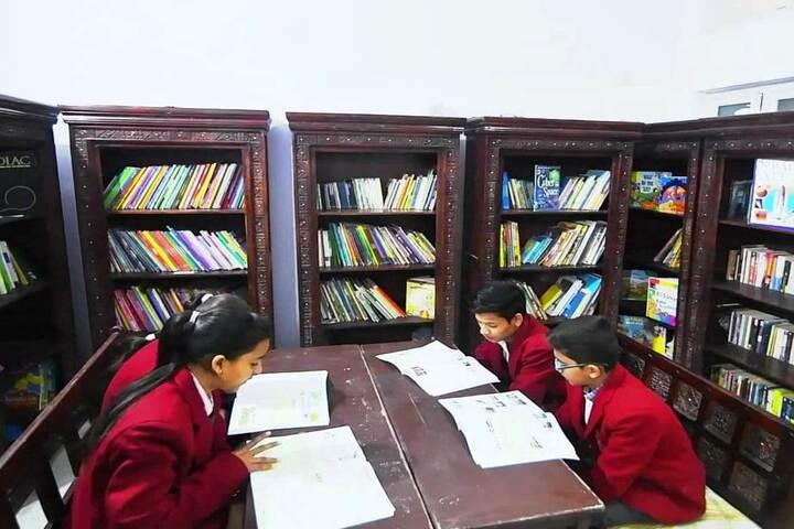 Wecan Kindersley International School-Library