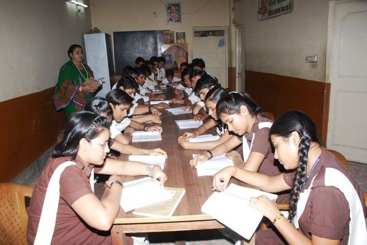 Maharishi Gautam Senior Secondary School-Library
