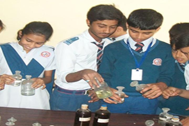 R K Public Senior Secondary School-Chemistry-Lab
