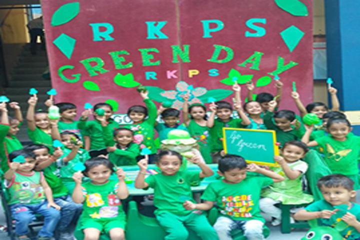 R K Public Senior Secondary School-Green Day