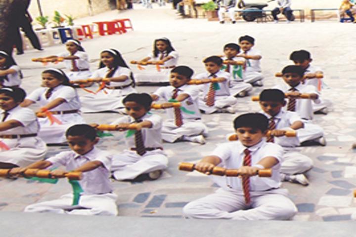 R K Public Senior Secondary School-Yoga