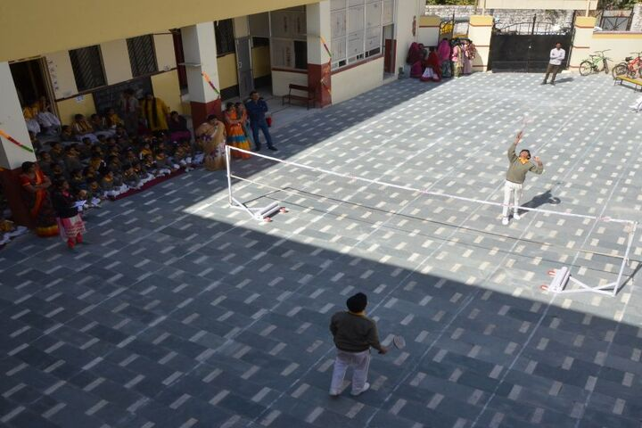 New R K Public School-Badminton Court