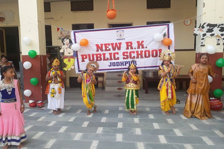 New R K Public School-Festival Celebrations