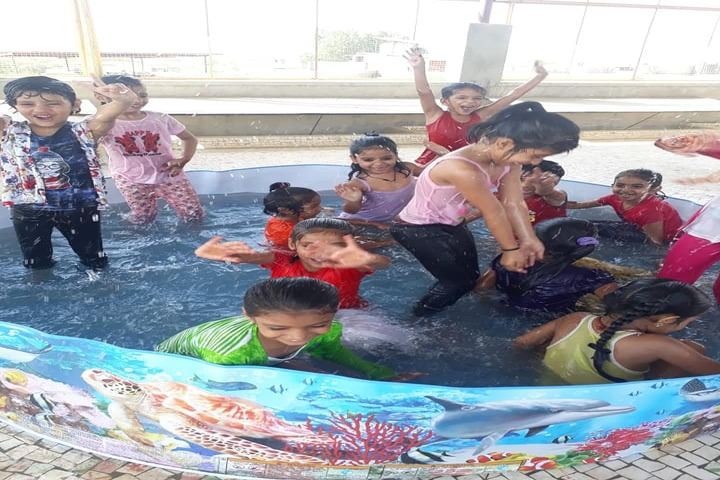New R K Public School-Pool Party