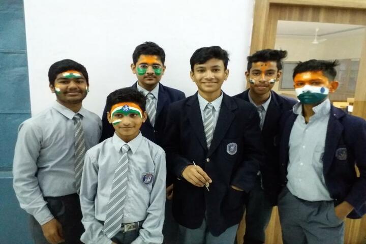 Shri Maheshwari Senior Secondary School-Face Painting