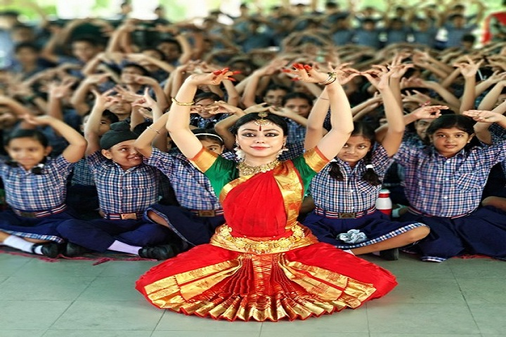 Bakhshis Springdales Junior School-Dance