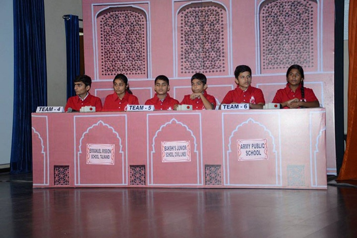 Bakhshis Springdales Junior School-Quiz