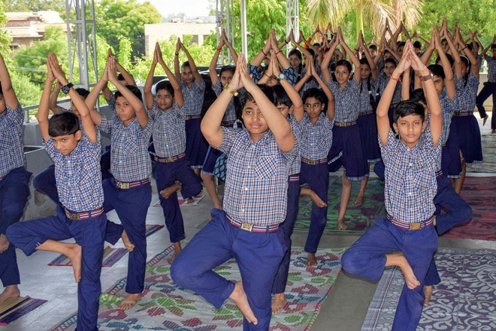 Bakhshis Springdales Junior School-Yoga