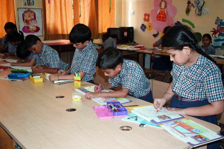Bakhshis Springdales Upper Primary School-Art