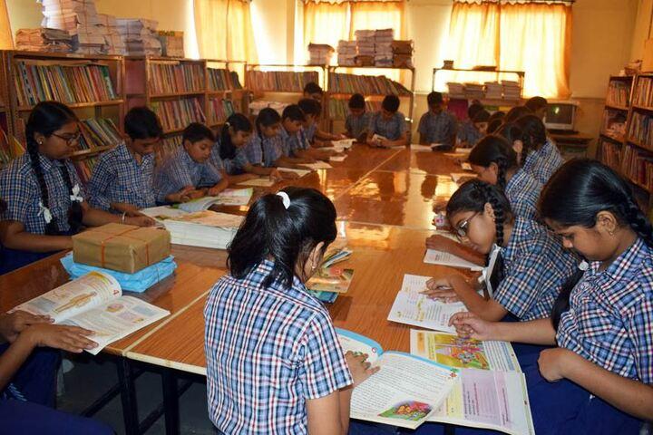 Bakhshis Springdales Upper Primary School-Library