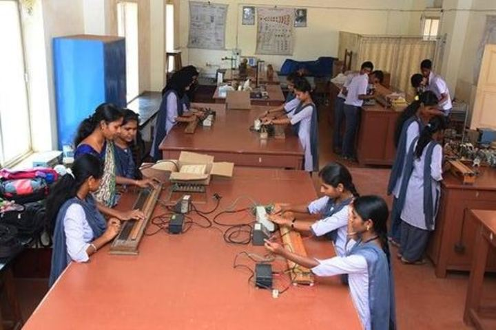 Besant National Girls Pre University College-Physics Lab