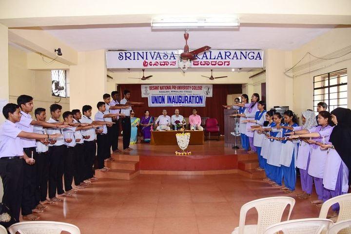 Besant National Girls Pre University College-Prayer