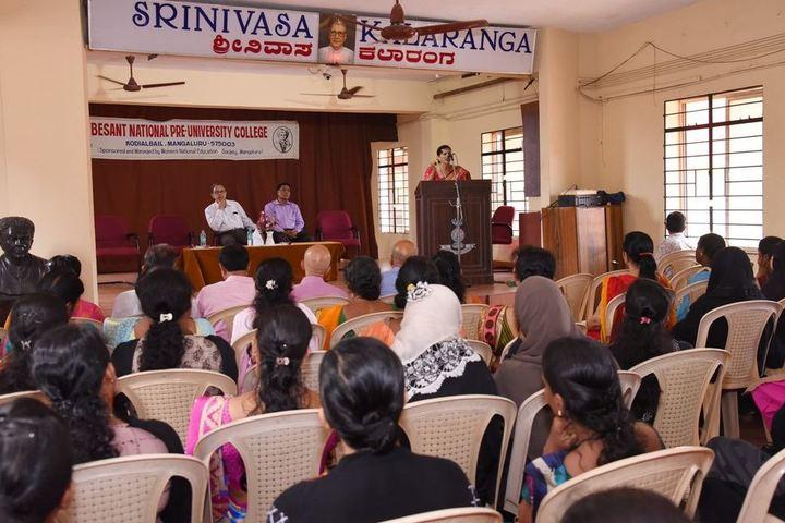 Besant National Girls Pre University College-Speech