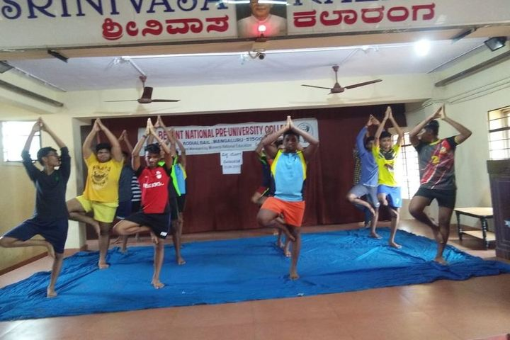 Besant National Girls Pre University College-Yoga