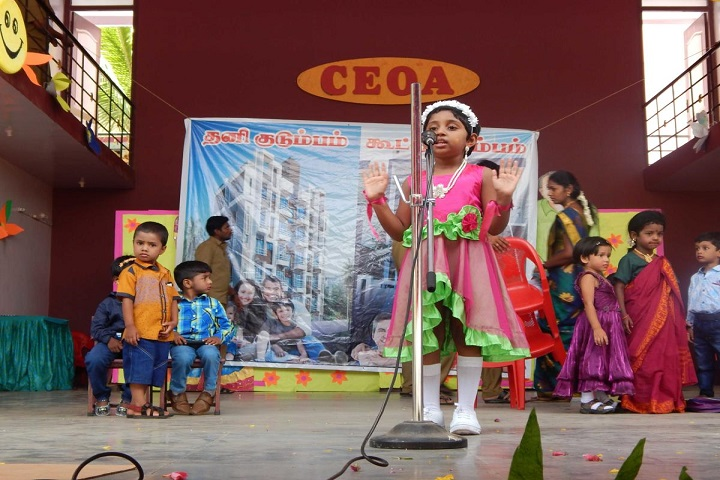 CEOA Matriculation Higher Secondary School-Story Telling Competition