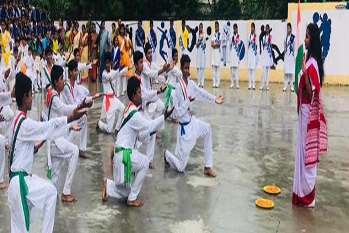 Vashisth Vatsalya Public School-Independence Day Celebration