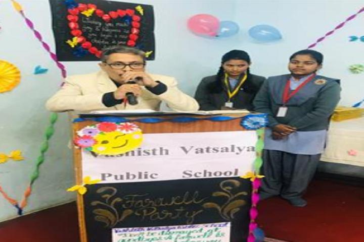 Vashisth Vatsalya Public School-Speech