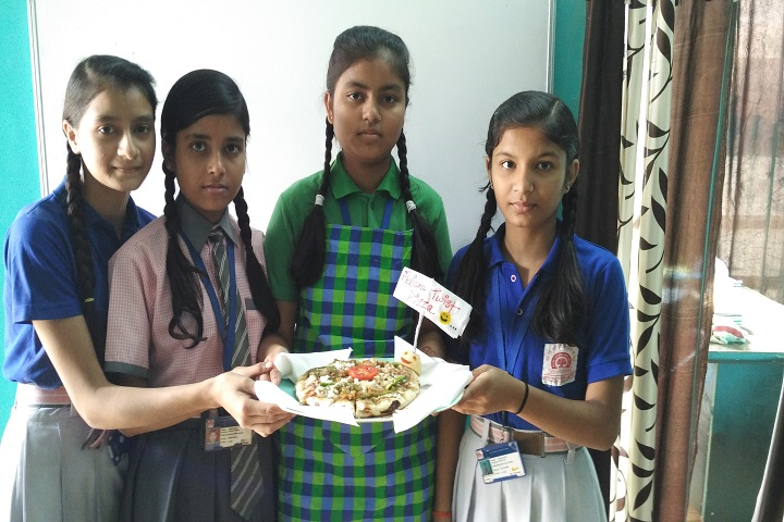 Dr SRK Public Girls High School-Cooking Competition