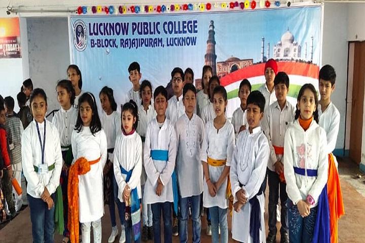 Lucknow Public School-Group Singing