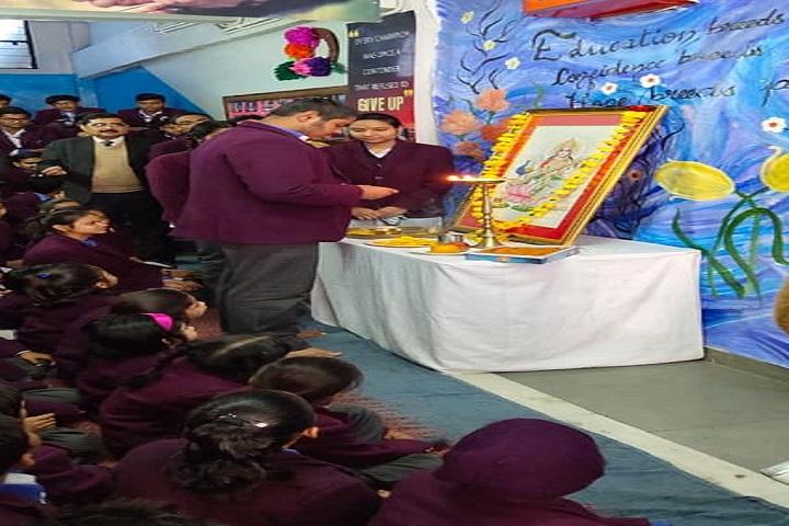 Lucknow Public School-Lighting The Lamp