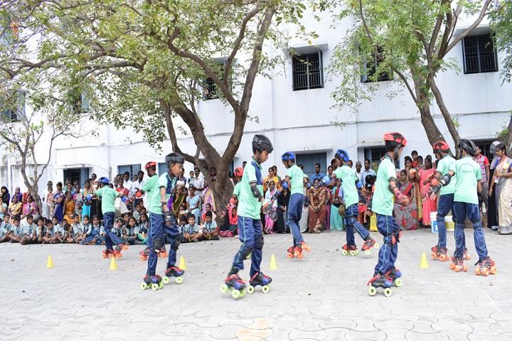 Sri Ragavendra Matriculation School-Skating