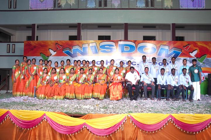 Wisdom Matriculation Higher Secondary School-Group Photo