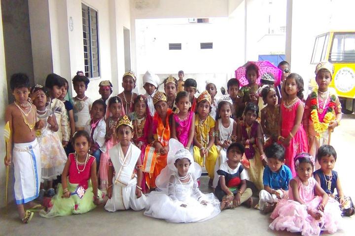 Wisdom Matriculation Higher Secondary School-Janmastami Celebration