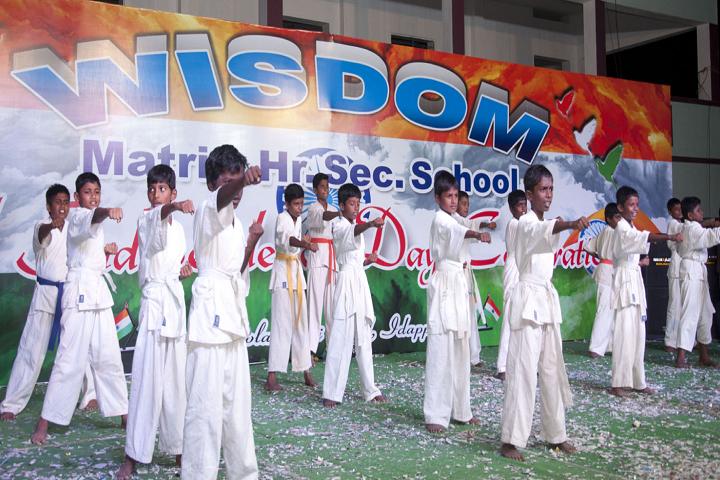 Wisdom Matriculation Higher Secondary School-Karate