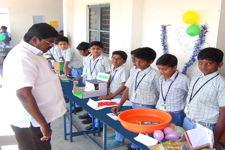 Wisdom Matriculation Higher Secondary School-School Exhibition