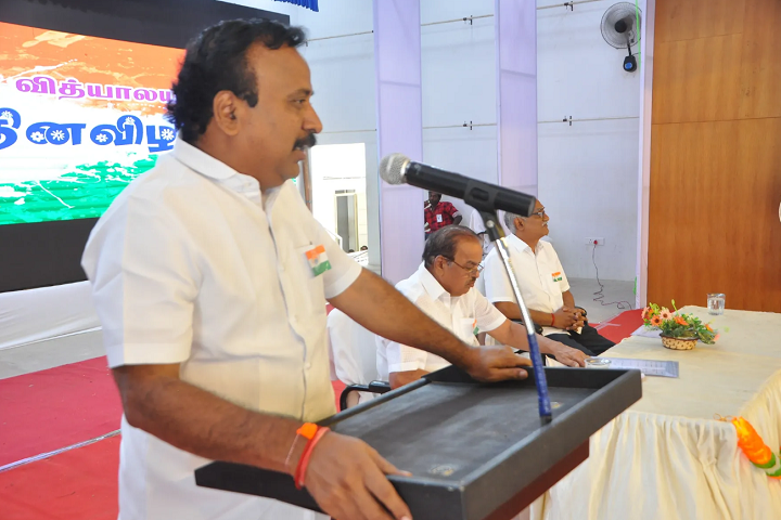 Vivekananda Vidyalaya Matric Higher Secondary School-Guest Lecture