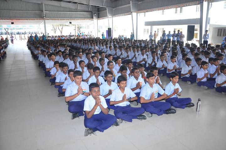 Vivekananda Vidyalaya Matric Higher Secondary School-Prayer Hall