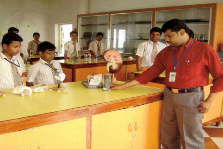 Dhanalakshmi Srinivasan Matric Higher Secondary School-Biology Lab