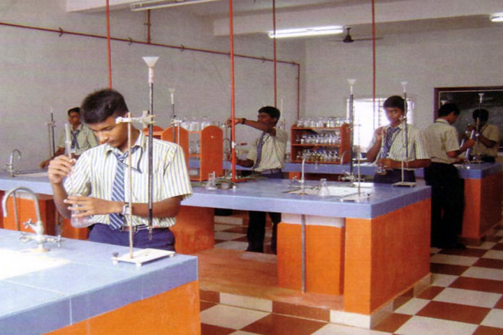 Dhanalakshmi Srinivasan Matric Higher Secondary School-Chemistry Lab