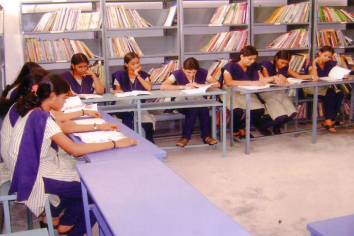 Dhanalakshmi Srinivasan Matric Higher Secondary School-Library