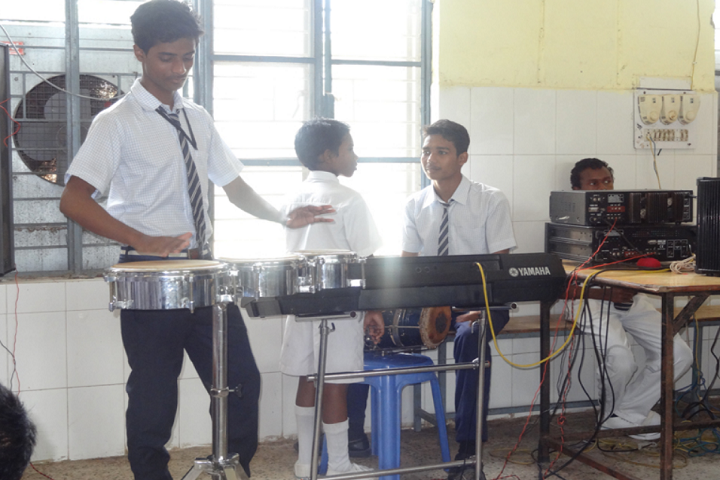 Jawahar Navodaya Vidyalaya-Music Room