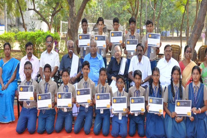 Periyar Centenary Memorial Matriculation Higher Secondary School-Certification