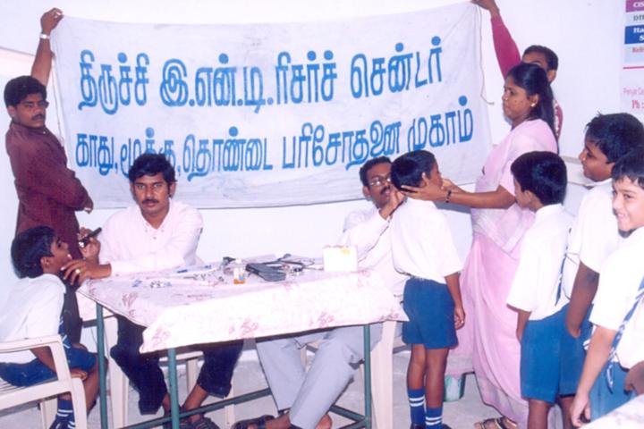 Periyar Centenary Memorial Matriculation Higher Secondary School-Health And Medical CheckUp