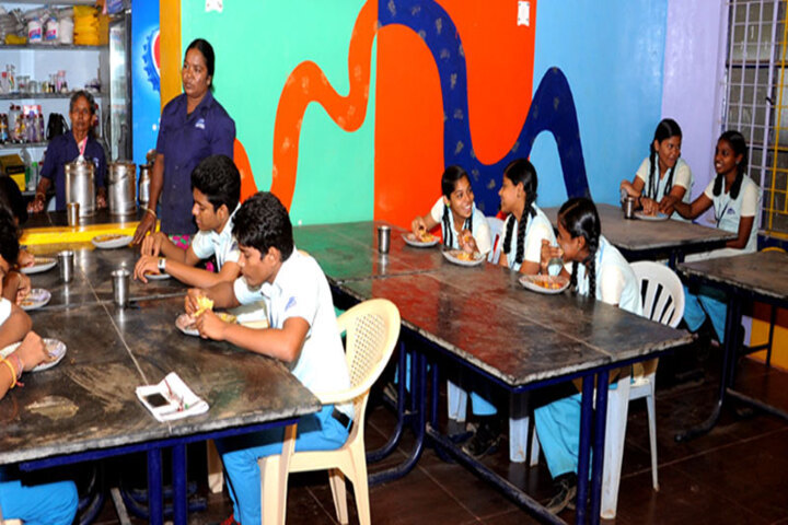 Dolphin Matriculation Higher Secondary School-Cafeteria