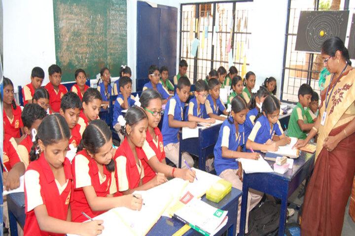 Dolphin Matriculation Higher Secondary School-Classroom
