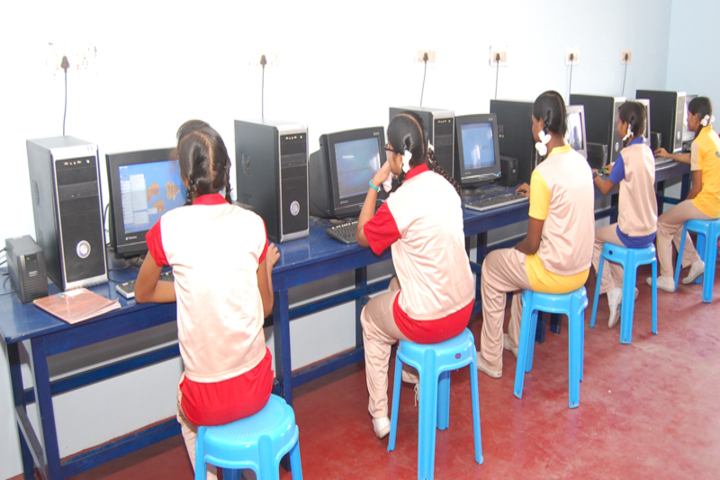 Dolphin Matriculation Higher Secondary School-Computer Lab