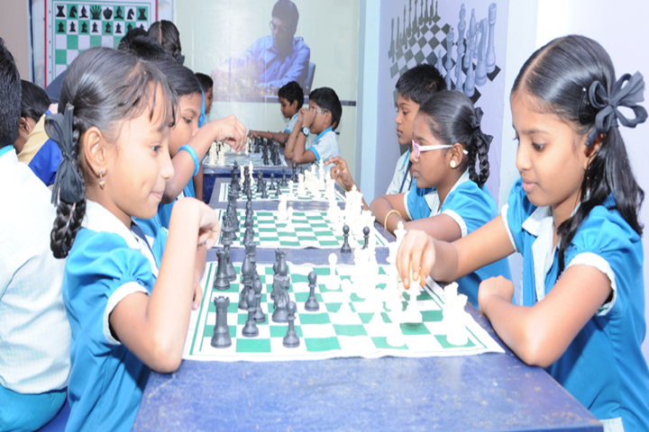 Dolphin Matriculation Higher Secondary School-Indoor Games
