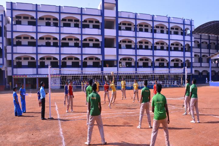 Dolphin Matriculation Higher Secondary School-School Building