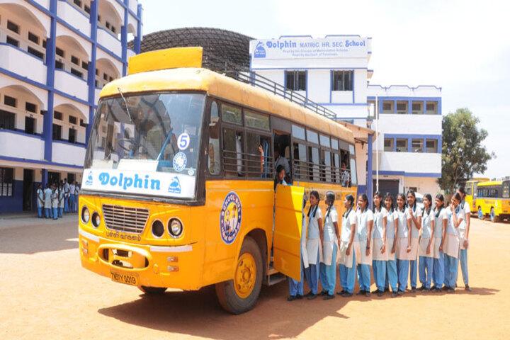 Dolphin Matriculation Higher Secondary School-Transport