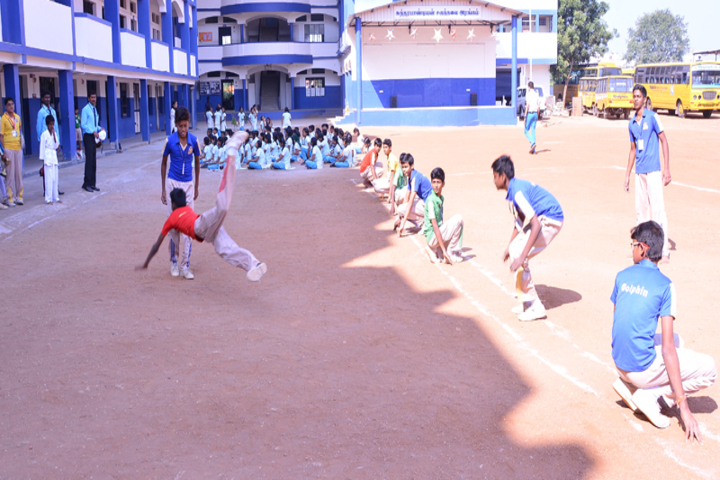 Dolphin Matriculation Higher Secondary School-Games