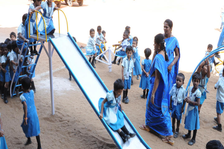 Dolphin Matriculation Higher Secondary School-Kids Play Area