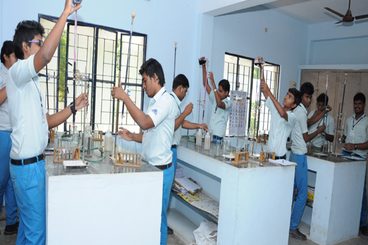 Dolphin Matriculation Higher Secondary School-Science Lab